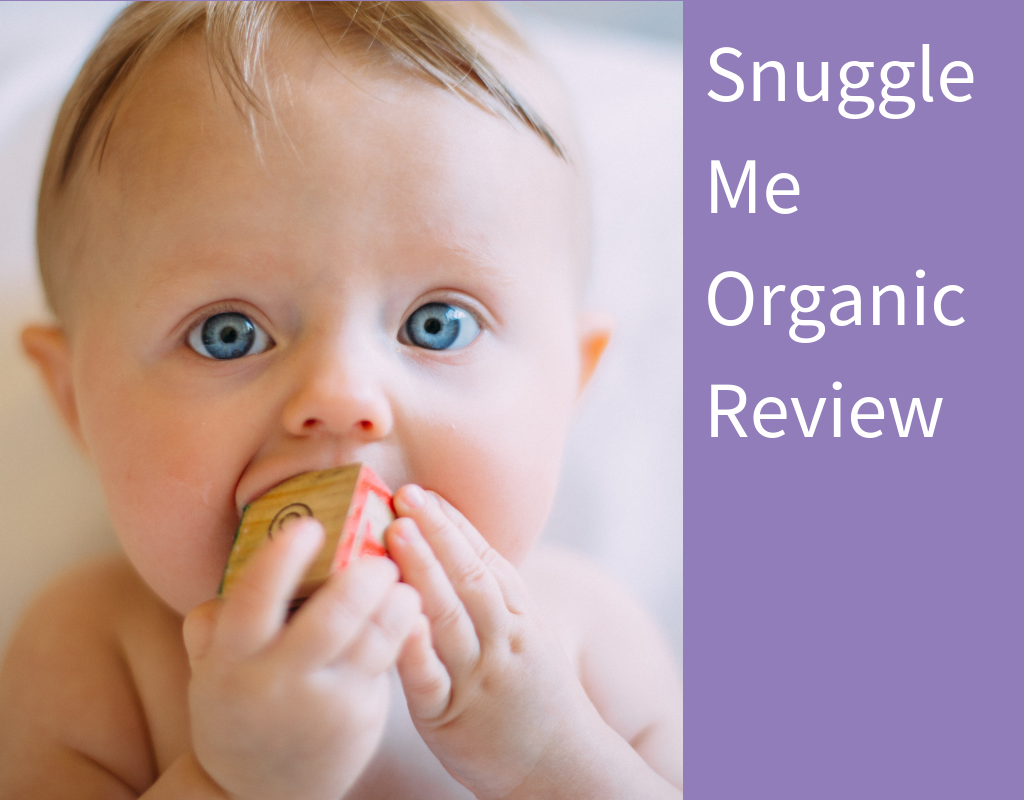 Snuggle Me Organic Baby Lounger Review Featured Image